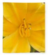 The Lily From Kentucky Fleece Blanket