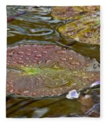 The Lily Pad Fleece Blanket