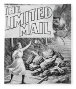 The Limited Mail, 1899 Fleece Blanket
