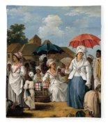 The Linen Market. Santo Domingo Fleece Blanket