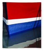The Lines Of Miss Pattie  Fleece Blanket