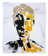 The Literary Man Fleece Blanket