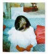 The Little Angel  Fleece Blanket