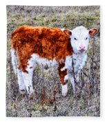 The Little Cow Fleece Blanket