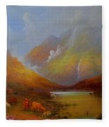 The Little Croft On The Isle Of Skye Scotland Fleece Blanket