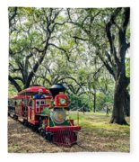 The Little Engine That Could - City Park New Orleans Fleece Blanket