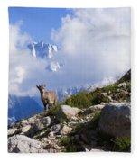 The Little Ibex Fleece Blanket