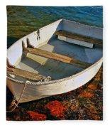 The Little Rowboat Fleece Blanket
