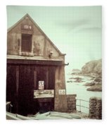 The Lizard Lifeboat Station Polpeor Cove Fleece Blanket