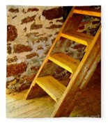The Loft Steps Fleece Blanket