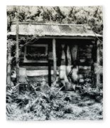 The Log Cabin Fleece Blanket