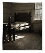 The Log Cabin C.1785 Fleece Blanket
