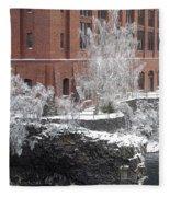 The Lone Sentinel - Spokane Washington Fleece Blanket