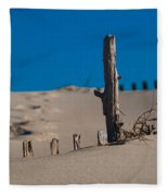 The Lonely Driftwood Fleece Blanket