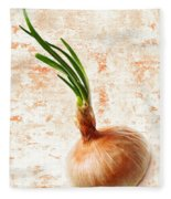The Lonely Onion Fleece Blanket