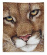 The Look Cougar Fleece Blanket