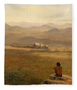 The Lookout Fleece Blanket