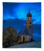 The Lord Is My Light - The Italian Dolomites Fleece Blanket