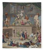 The Lottery, Illustration From Hogarth Fleece Blanket