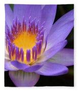 The Lotus Flower - Tropical Flowers Of Hawaii - Nymphaea Stellata Fleece Blanket
