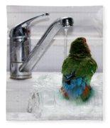 The Lovebird's Shower Fleece Blanket