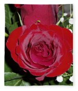 The Lovely Rose Fleece Blanket