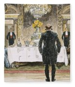 The Lucky Rich, 1896 Fleece Blanket