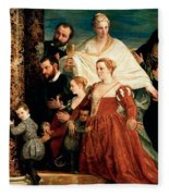 The Madonna Of The Cuccina Family Fleece Blanket