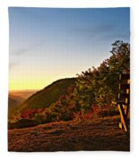 The Magic Bench Fleece Blanket