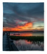The Magic Hour Fleece Blanket
