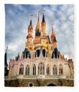 The Magic Kingdom Fleece Blanket