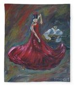 The Magic Of Dance Fleece Blanket