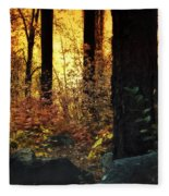 The Magic Of The Forest  Fleece Blanket