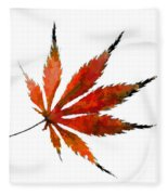 The Magical Colors Of Fall Fleece Blanket