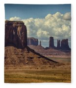 The Majesty Of Monument Valley  Fleece Blanket