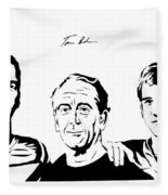 the Mannings Fleece Blanket