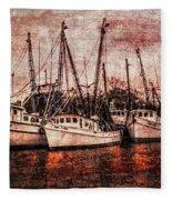 The Marina Fleece Blanket