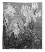 The Mariner Sees The Band Of Angelic Spirits Fleece Blanket