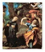 The Martyrdom Of Four Saints Fleece Blanket