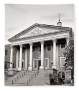 The Maryland State House Fleece Blanket