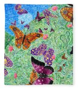 The Meadow Way Fleece Blanket