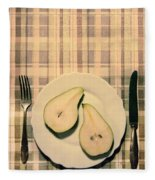 The Meal Of The Day Fleece Blanket