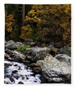 The Merced River Fleece Blanket