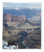 The Mighty Colorado River Fleece Blanket
