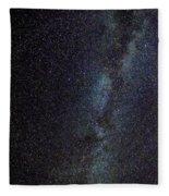 The Milky Way Galaxy  Fleece Blanket