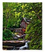 The Mill Paint 2 Fleece Blanket