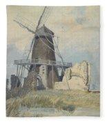 The Mill St Benet's Abbey Fleece Blanket