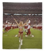 The Million Dollar Marching Band Of The University Of Alabama Fleece Blanket