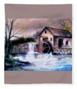 The Millstream Fleece Blanket