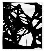 The Minaret And Art Fleece Blanket
